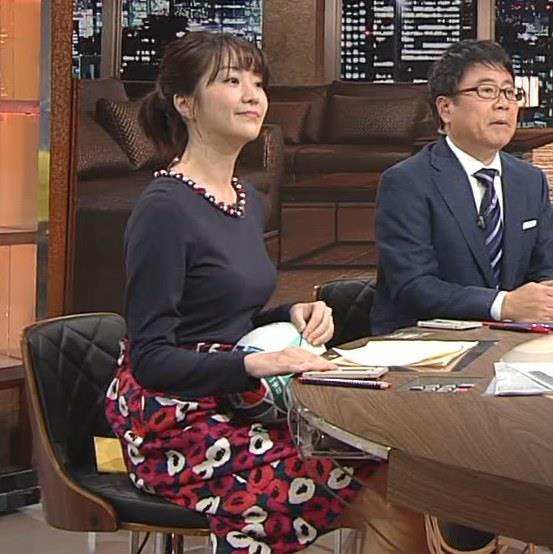 副島萌生アナ おっぱいがデカくてエロいぃキャプ・エロ画像12