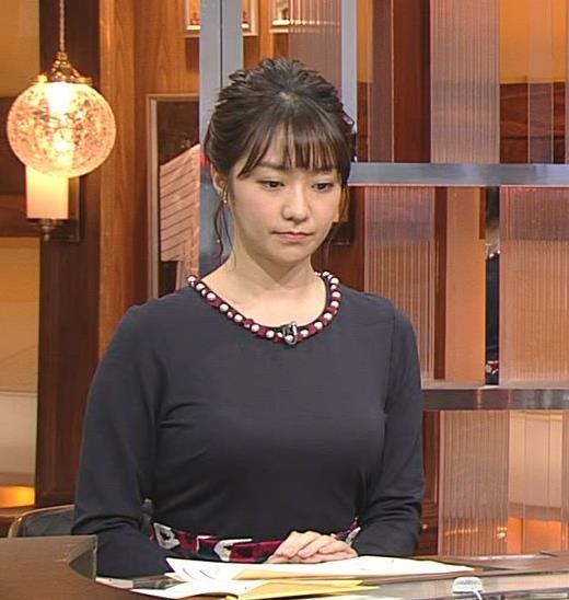 副島萌生アナ おっぱいがデカくてエロいぃキャプ・エロ画像3
