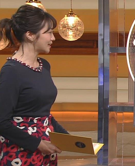 副島萌生アナ おっぱいがデカくてエロいぃキャプ・エロ画像4