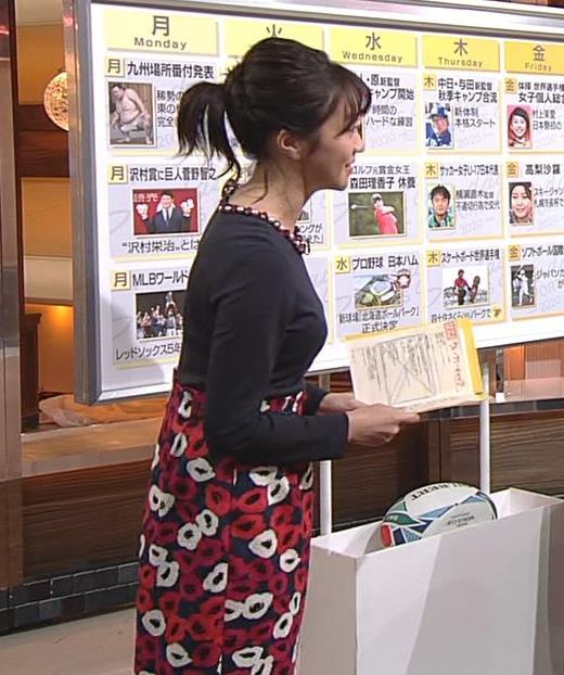 副島萌生アナ おっぱいがデカくてエロいぃキャプ・エロ画像5