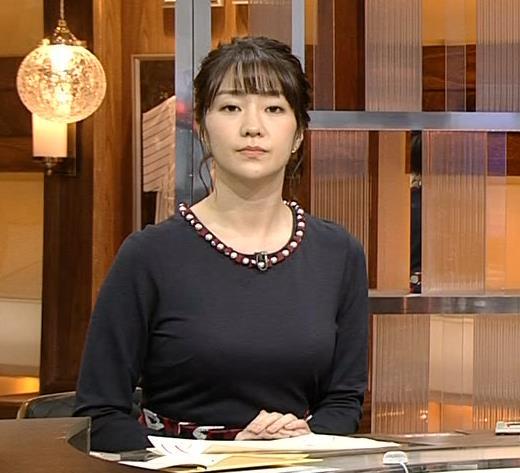 副島萌生アナ おっぱいがデカくてエロいぃキャプ・エロ画像6