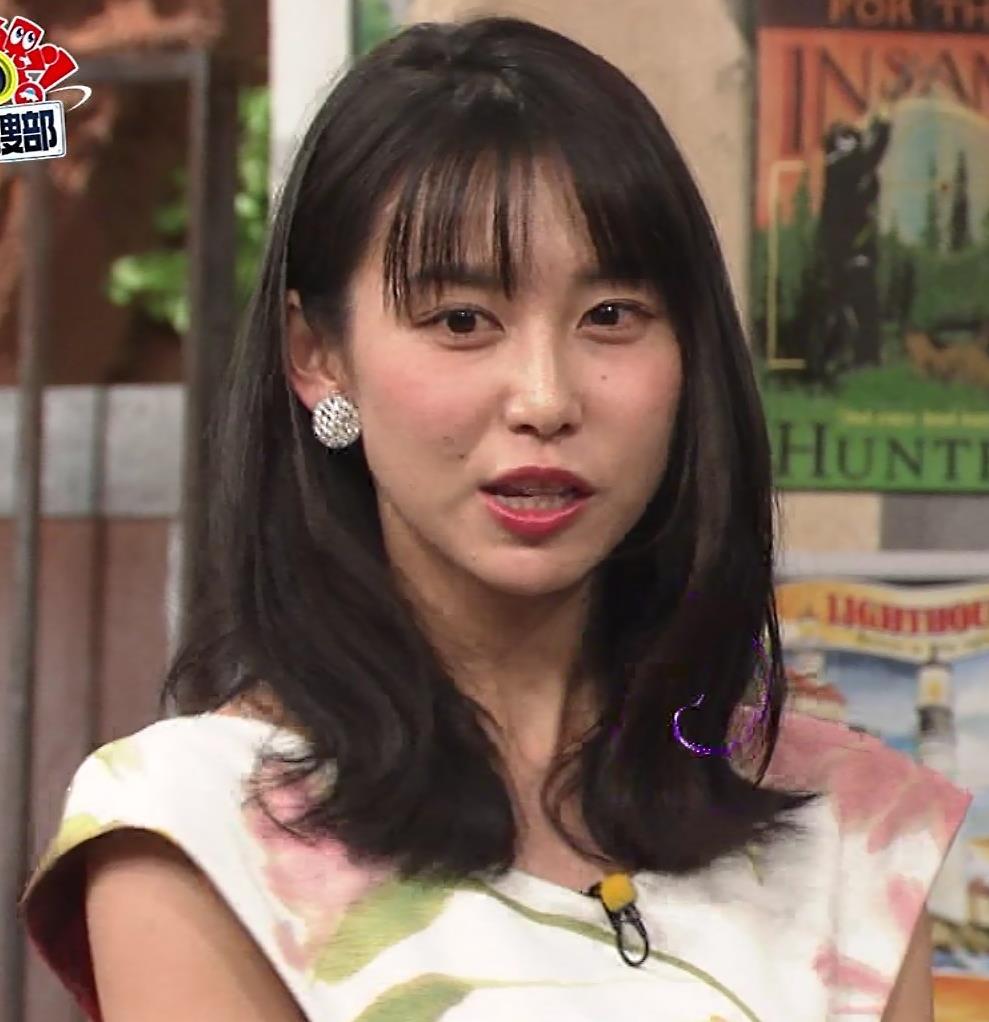 杉野真美アナ 思いっきりエロいワキちらキャプ・エロ画像2