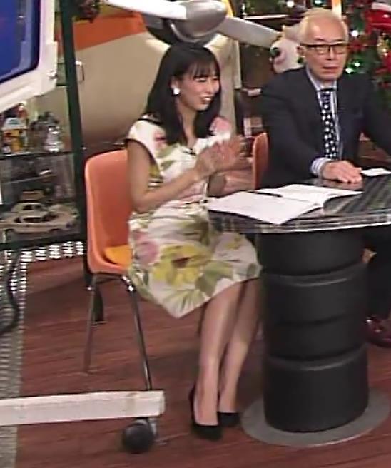 杉野真美アナ 思いっきりエロいワキちらキャプ・エロ画像3