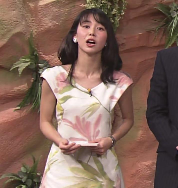 杉野真美アナ 思いっきりエロいワキちらキャプ・エロ画像5