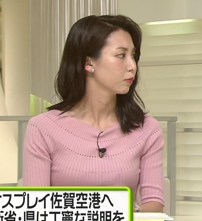 杉野真実アナ ニット乳がエロいキャプ・エロ画像4