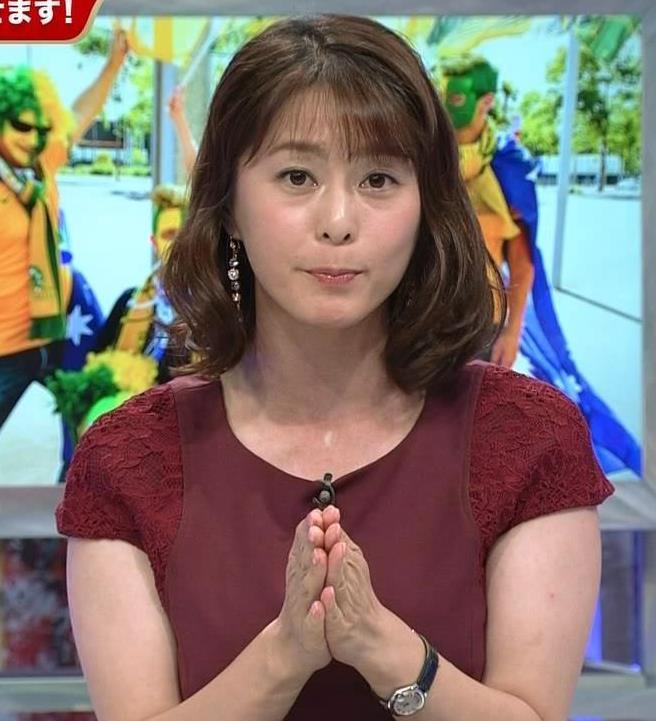 杉浦友紀アナ ワールドカップ ウイークリーハイライトキャプ・エロ画像2