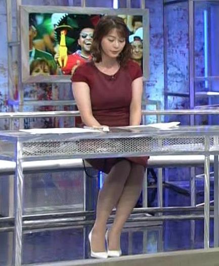 杉浦友紀アナ ワールドカップ ウイークリーハイライトキャプ・エロ画像11