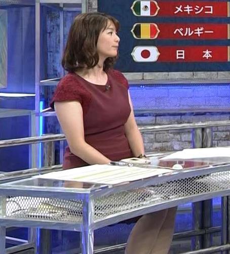 杉浦友紀アナ ワールドカップ ウイークリーハイライトキャプ・エロ画像12