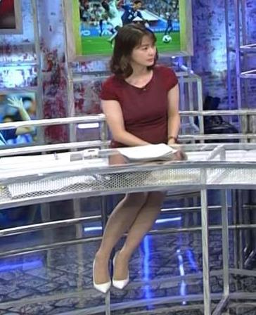 杉浦友紀アナ ワールドカップ ウイークリーハイライトキャプ・エロ画像4