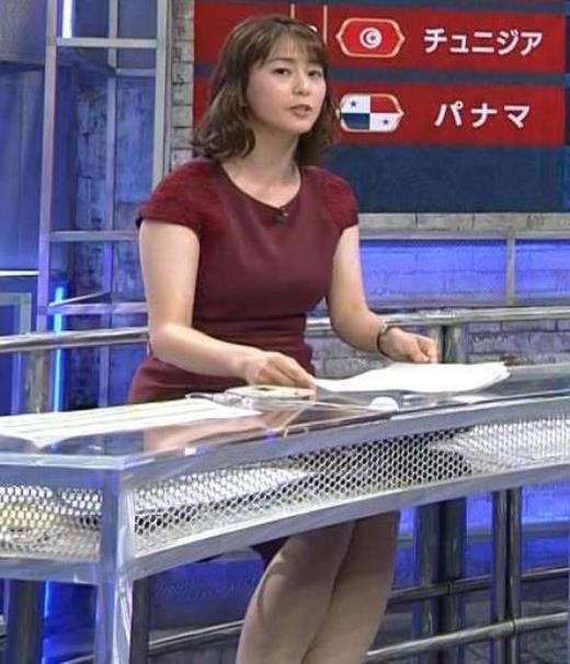 杉浦友紀 ワールドカップ ウイークリーハイライトキャプ画像(エロ・アイコラ画像)