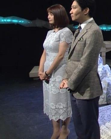 杉浦友紀アナ パツパツのお胸キャプ・エロ画像