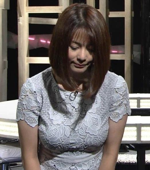 杉浦友紀アナ パツパツのお胸キャプ・エロ画像3