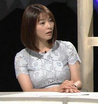 杉浦友紀アナ パツパツのお胸キャプ・エロ画像5