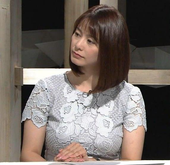 杉浦友紀アナ パツパツのお胸キャプ・エロ画像6