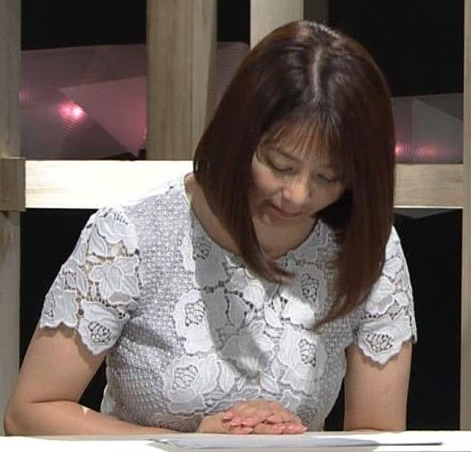 杉浦友紀アナ パツパツのお胸キャプ・エロ画像7