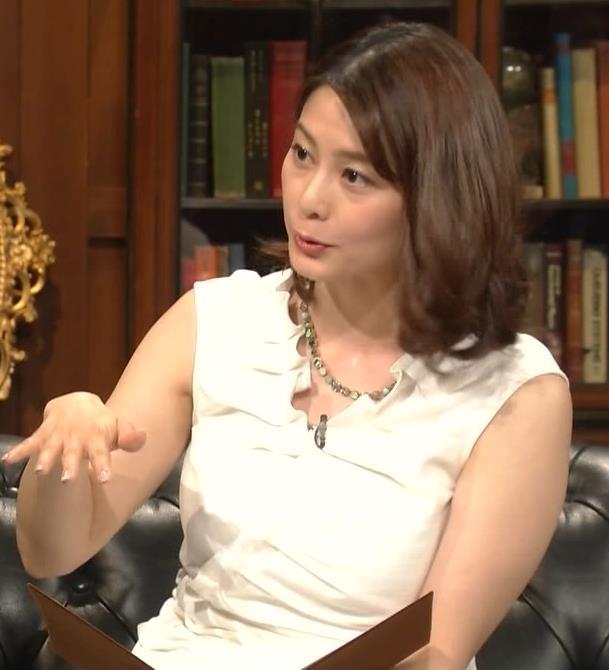 杉浦友紀アナ 腕がムチムチでたまらないキャプ・エロ画像14