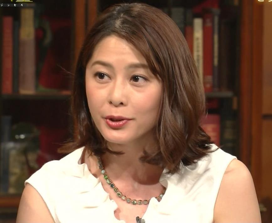 杉浦友紀アナ 腕がムチムチでたまらないキャプ・エロ画像3