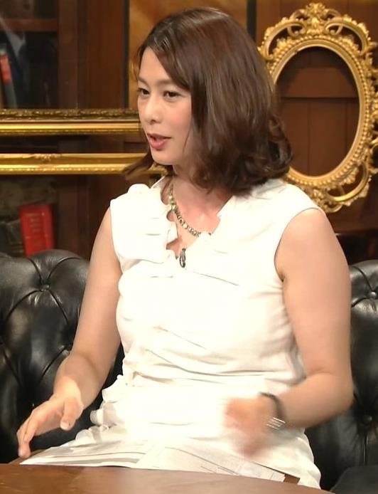 杉浦友紀アナ 腕がムチムチでたまらないキャプ・エロ画像5