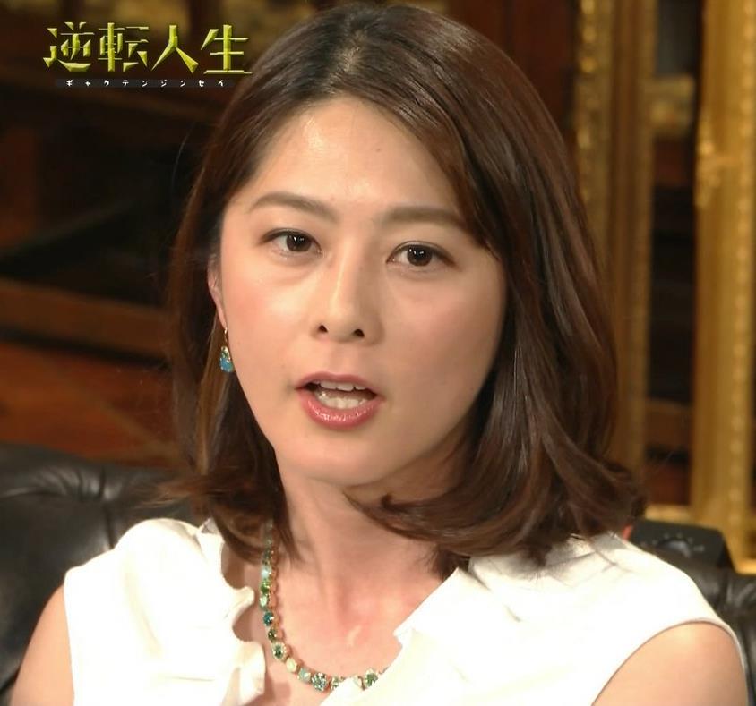 杉浦友紀アナ 腕がムチムチでたまらないキャプ・エロ画像8