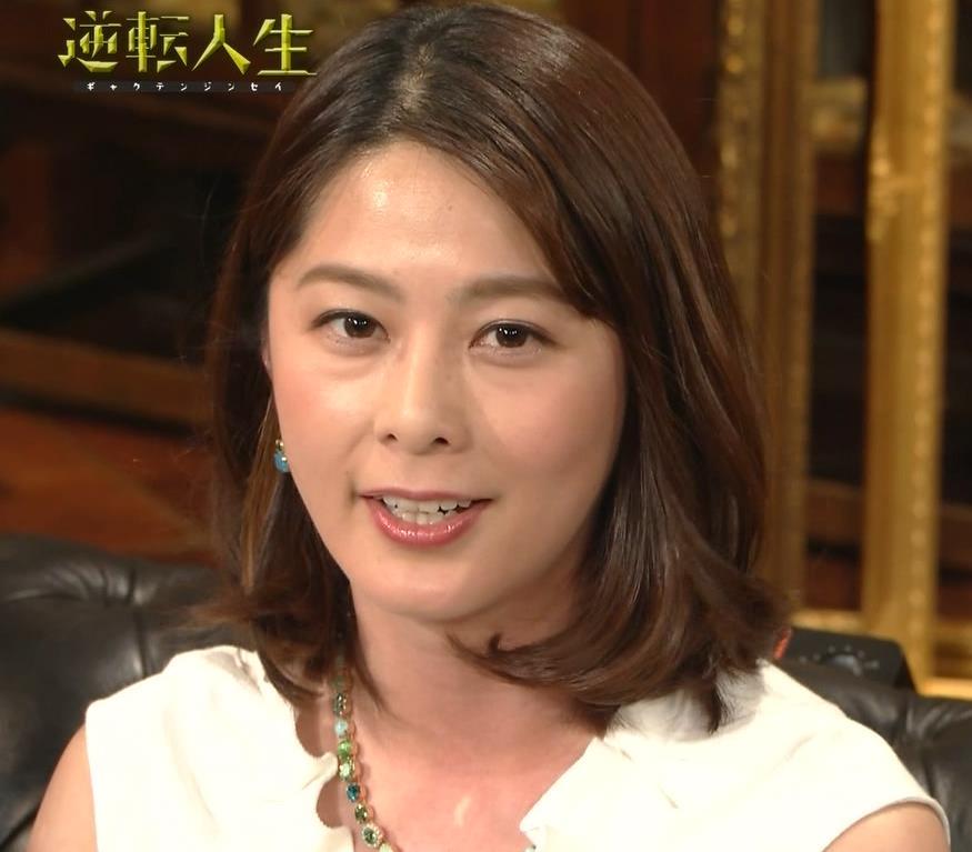 杉浦友紀アナ 腕がムチムチでたまらないキャプ・エロ画像9