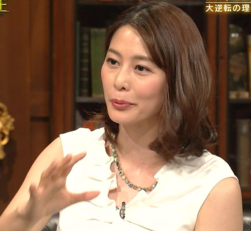 杉浦友紀アナ 腕がムチムチでたまらないキャプ・エロ画像10