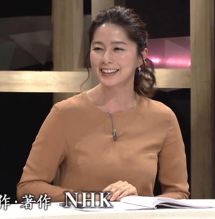 杉浦友紀アナ むぎゅうっとおっぱいをつぶし続けるGIF動画キャプ・エロ画像7