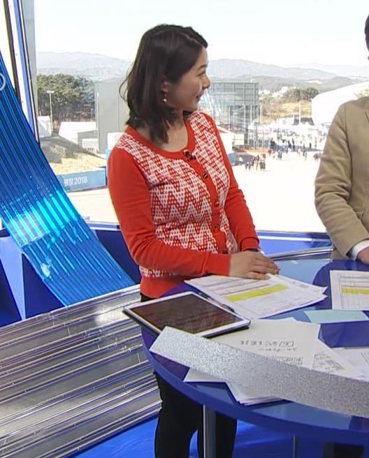 杉浦友紀アナ 連日巨乳が見れるオリンピックになってるキャプ・エロ画像5