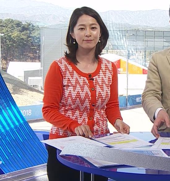 杉浦友紀アナ 連日巨乳が見れるオリンピックになってるキャプ・エロ画像7
