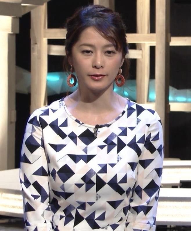 杉浦友紀アナ 胸をつぶすお辞儀キャプ・エロ画像4
