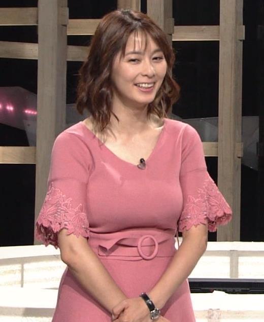 杉浦友紀アナ 乳を見られるのが好きなんだろうねキャプ・エロ画像3