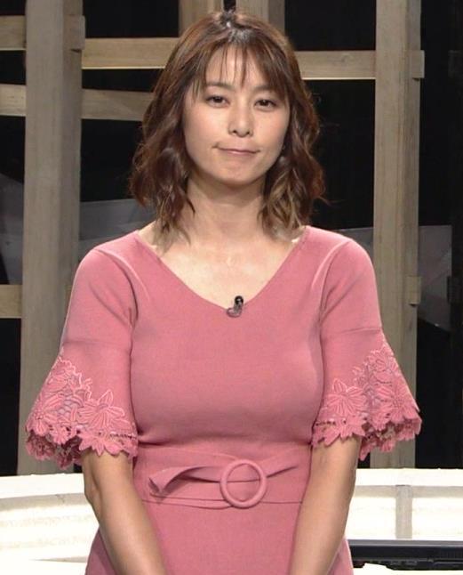 杉浦友紀アナ 乳を見られるのが好きなんだろうねキャプ・エロ画像6