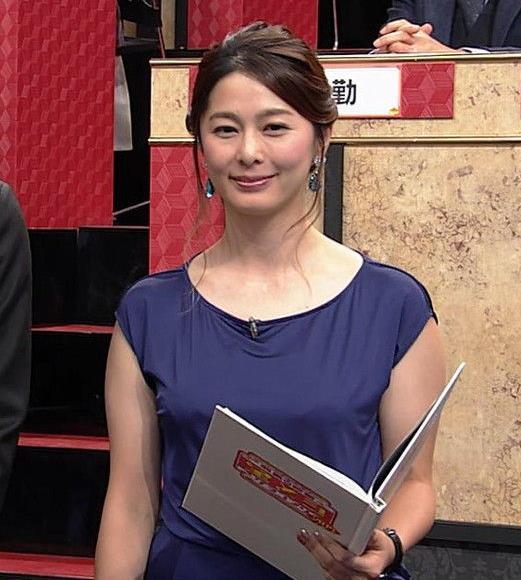 杉浦友紀アナ 薄着おっぱいエロキャプ・エロ画像