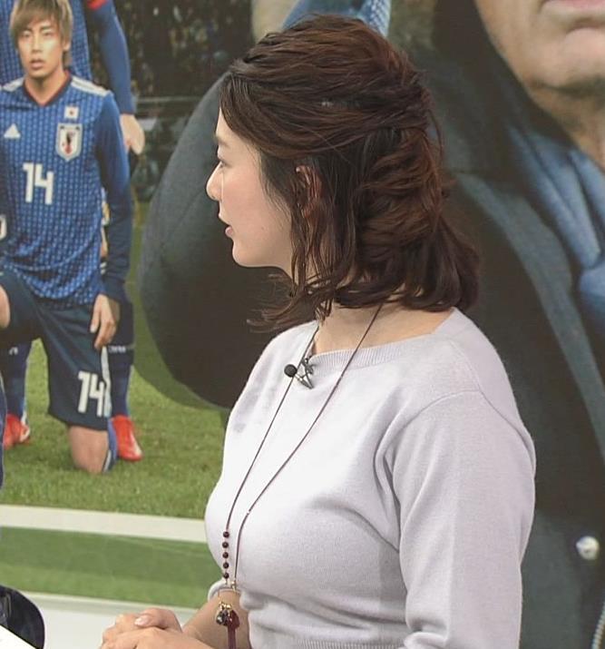 杉浦友紀アナ 久しぶりにおっぱいが際立ってたよキャプ・エロ画像