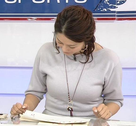 杉浦友紀アナ 久しぶりにおっぱいが際立ってたよキャプ・エロ画像2