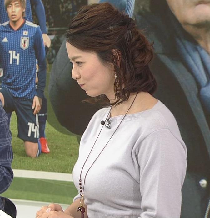 杉浦友紀アナ 久しぶりにおっぱいが際立ってたよキャプ・エロ画像3