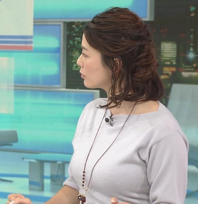 杉浦友紀アナ 久しぶりにおっぱいが際立ってたよキャプ・エロ画像6