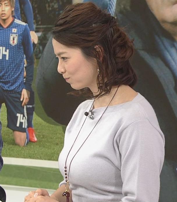 杉浦友紀アナ 久しぶりにおっぱいが際立ってたよキャプ・エロ画像9