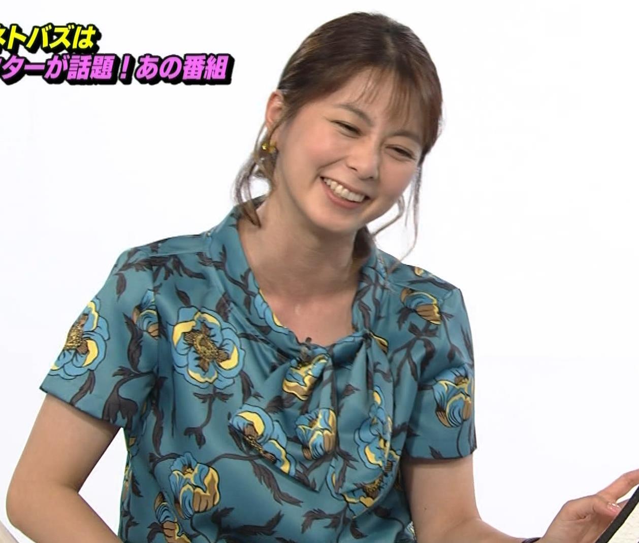 杉浦友紀アナ NET BUZZキャプ・エロ画像2