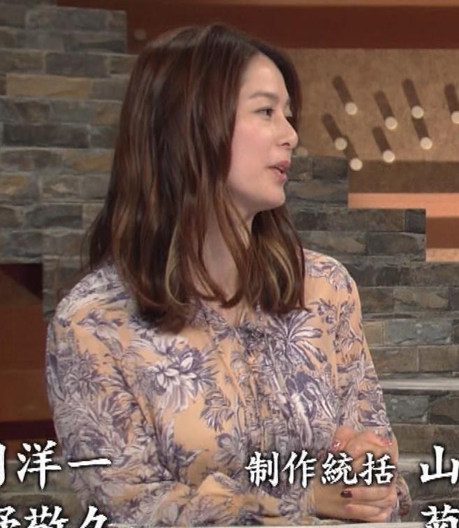 杉浦友紀アナ 爆乳が少しだけアピールキャプ・エロ画像7