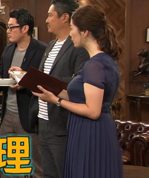 杉浦友紀アナ 久しぶりにすげぇ横乳キャプ画像(エロ・アイコラ画像)