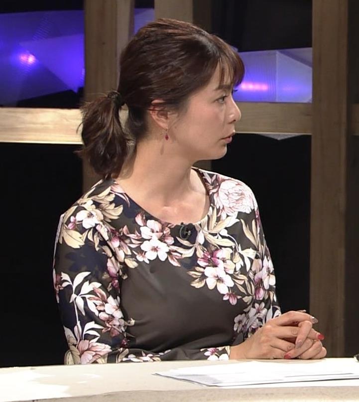 杉浦友紀アナ 安定の巨乳キャプ・エロ画像