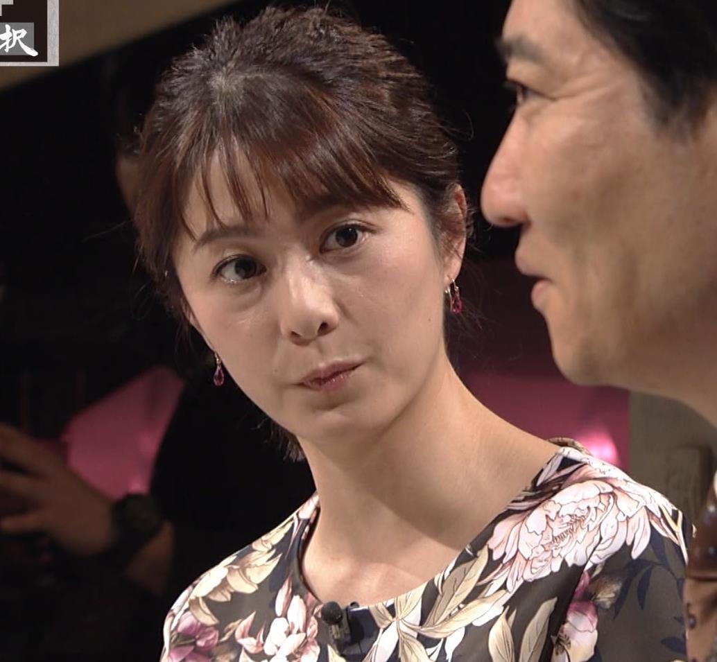 杉浦友紀アナ 安定の巨乳キャプ・エロ画像6