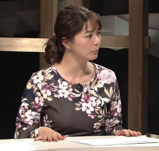 杉浦友紀アナ 安定の巨乳キャプ画像(エロ・アイコラ画像)
