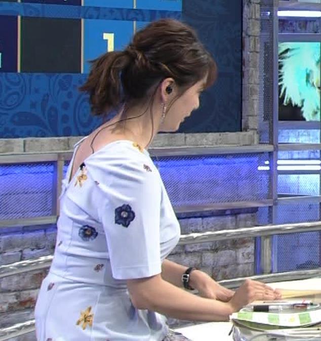 杉浦友紀アナ 「おっぱい半端ないって!」 ワールドカップ番組でお胸がエロ過ぎキャプ・エロ画像11