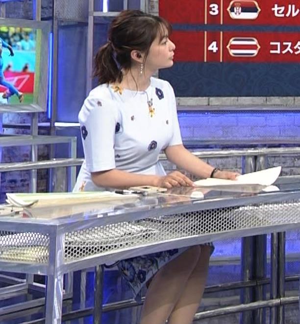 杉浦友紀アナ 「おっぱい半端ないって!」 ワールドカップ番組でお胸がエロ過ぎキャプ・エロ画像12