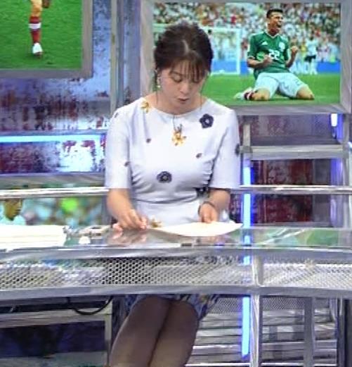 杉浦友紀アナ 「おっぱい半端ないって!」 ワールドカップ番組でお胸がエロ過ぎキャプ・エロ画像14