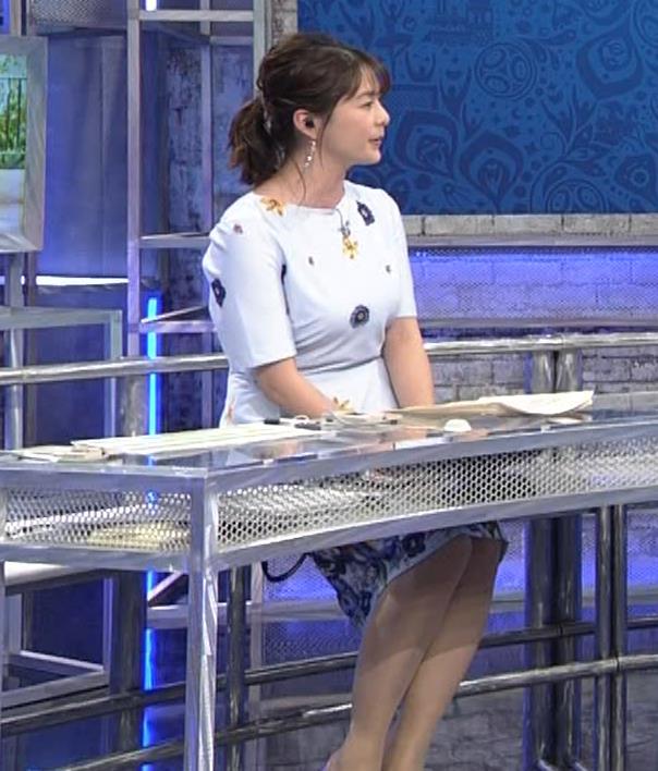 杉浦友紀アナ 「おっぱい半端ないって!」 ワールドカップ番組でお胸がエロ過ぎキャプ・エロ画像3