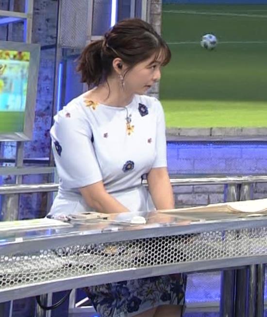 杉浦友紀アナ 「おっぱい半端ないって!」 ワールドカップ番組でお胸がエロ過ぎキャプ・エロ画像5