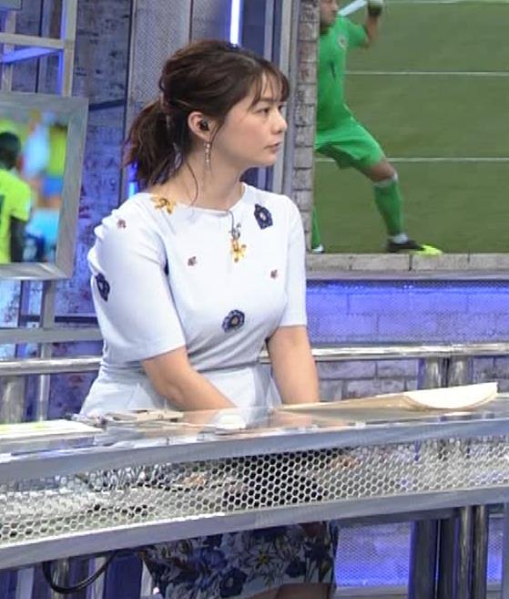 杉浦友紀アナ 「おっぱい半端ないって!」 ワールドカップ番組でお胸がエロ過ぎキャプ・エロ画像6