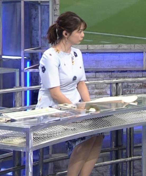 杉浦友紀アナ 「おっぱい半端ないって!」 ワールドカップ番組でお胸がエロ過ぎキャプ・エロ画像7